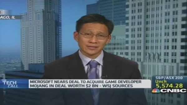 Microsoft to buy 'Minecraft' developer Mojang