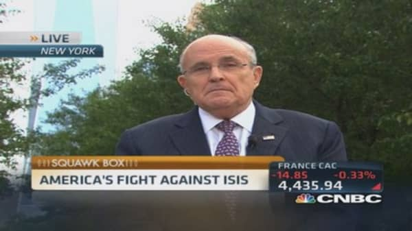 Giuliani: Ground troops may be necessary