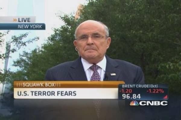 Giuliani: Resiliency as defense against terrorism