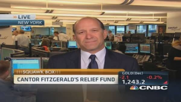 Cantor Fitzgerald remembering 9/11