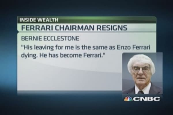 End of an era at Ferrari