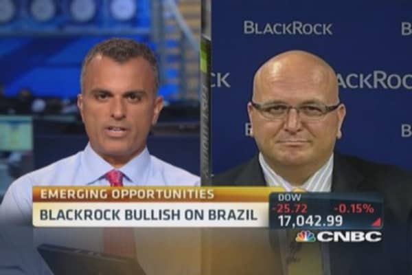 BlackRock likes Brazil