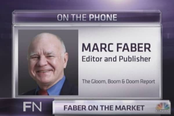 Marc Faber: McDonald's is telling us why bear market is ahead