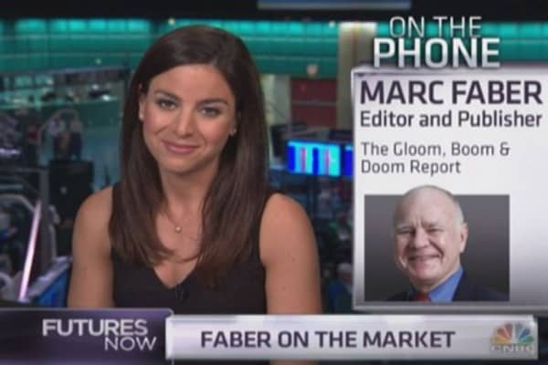 What Marc Faber's portfolio looks like