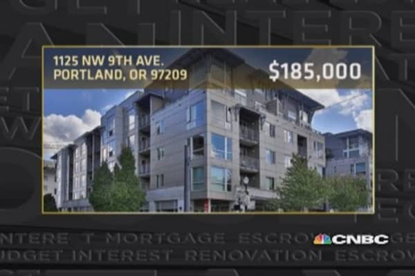 Snapshot of Portland real estate