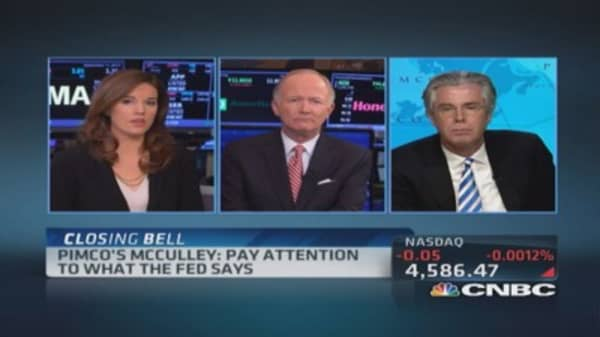 Paul McCulley: Fed must change language
