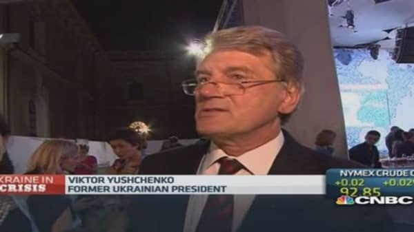 Ukraine needs military aid: Ex-President