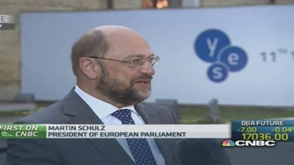 Sanctions have 'repercussions' on our people: Schulz