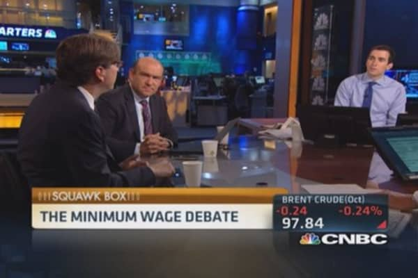 Case for minimum wage hike