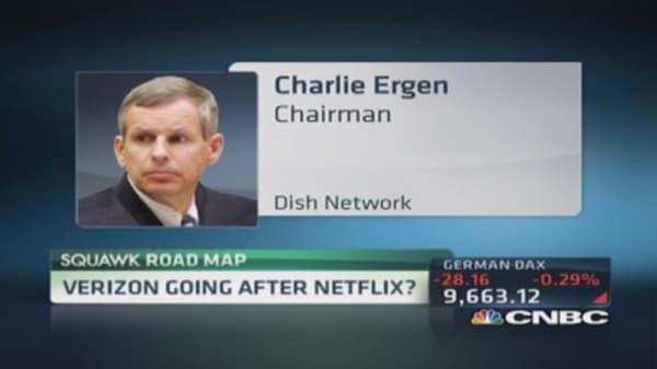 Verizon going after Netflix?