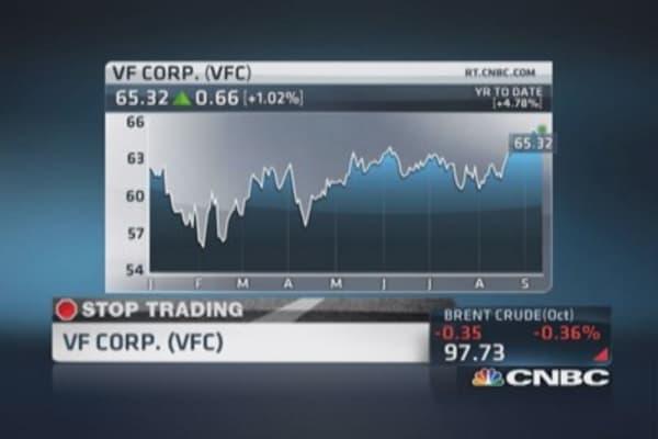 Cramer smells 'big upside' for VF Corp.