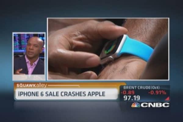 Apple Watch battery in focus