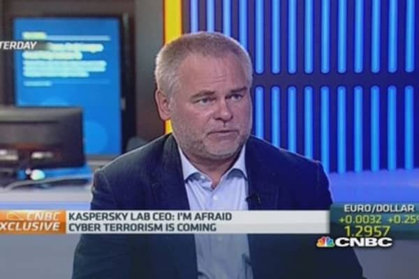 Cyber-terrorism 'is coming': Kaspersky CEO
