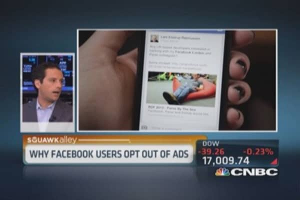 Facebook becomes more ad critical