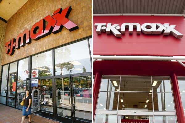 TJ Maxx TK Maxx stores