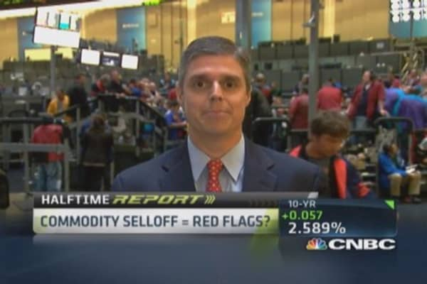Pros talk commodity selloff