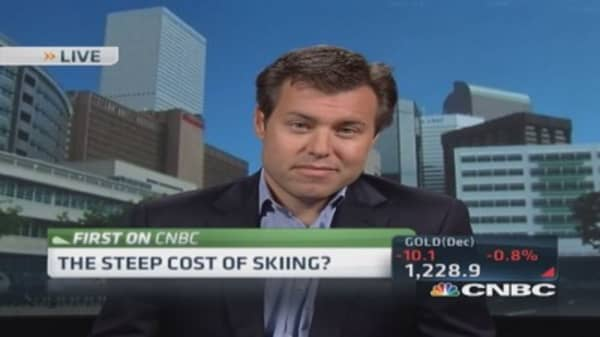The steep cost of skiing