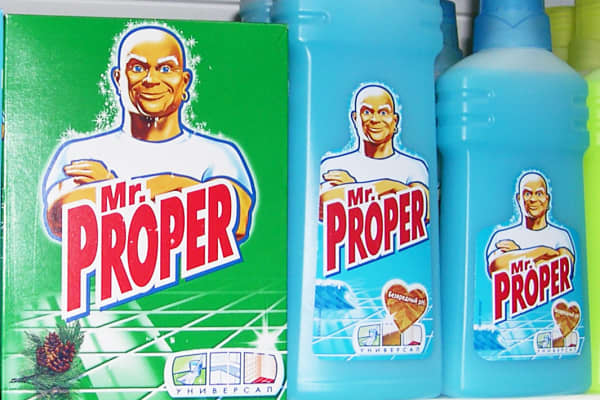 Mr. Proper products