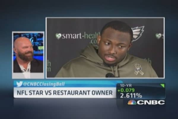 PYT owner on LeSean McCoy's 20-cent tip