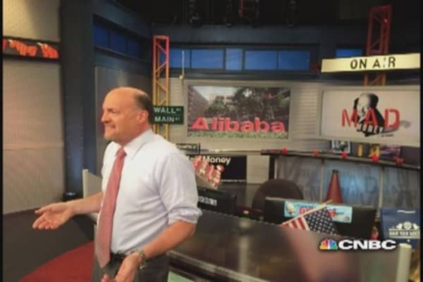 Cramer's call on the Alibaba IPO
