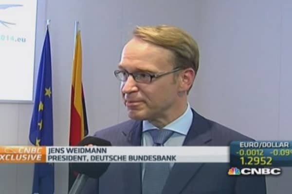 ECB ABS purchases put risk on taxpayer: Weidmann
