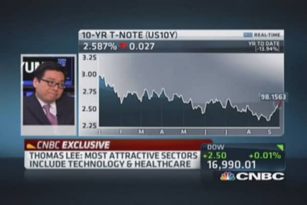 Tom Lee: Stay bullish into year-end