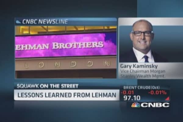 lessons from lehman brothers will we We've learned a great deal from the failure of lehman and the financial  the  question is what has been done in response to those lessons.