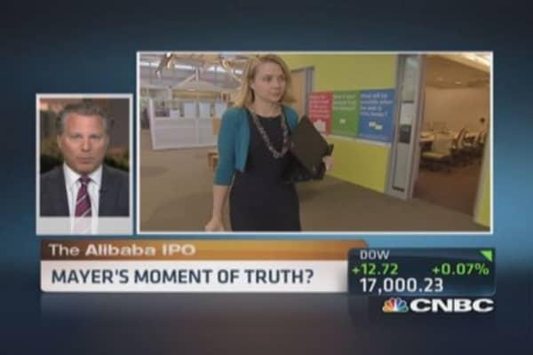 Marissa Mayer's 'moment of truth'
