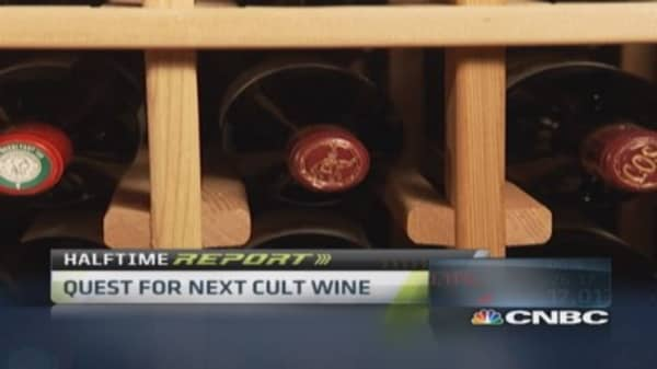 Traders try next cult wine