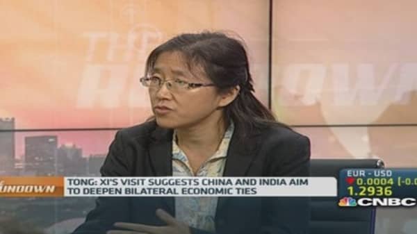 Xi's visit to fix Sino-India trade deficit: Expert