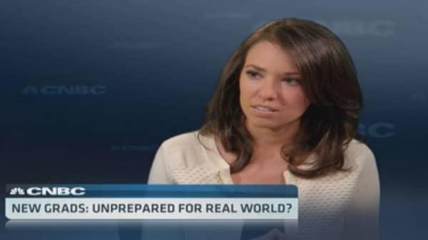 New grads: Unprepared for real world?