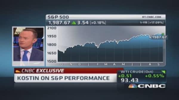 Goldman Sachs' market strategy