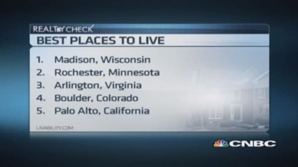 Best places to live in America