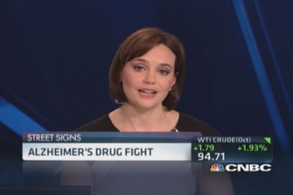 Alzheimer's drug fight