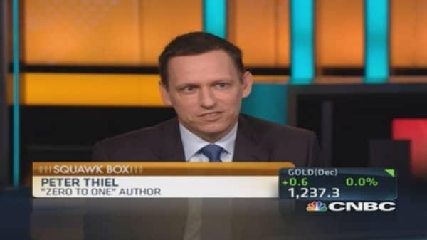 Twitter 'horribly mismanaged': Thiel