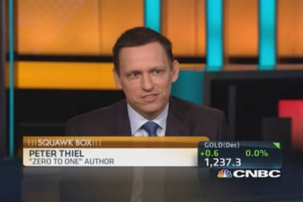 Twitter 'horribly mismanaged': Thiel