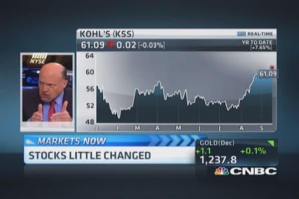 Kohl's having a renaissance: Cramer