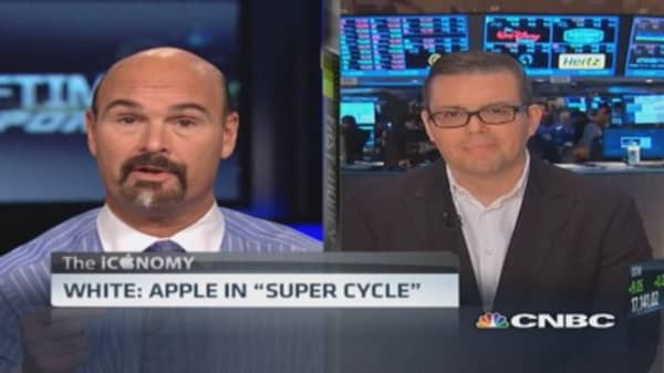 White: Apple in 'super cycle'