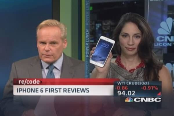 iPhone 6 first reviews