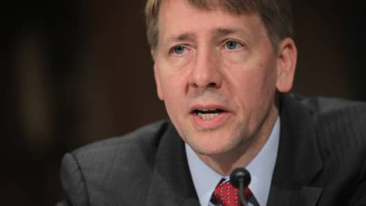 Richard Cordray stepping down from Consumer Financial Protection Bureau