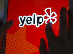 Yelp app on iPad Air