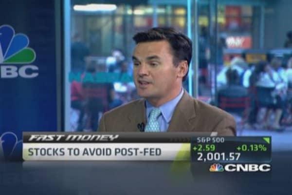 Stocks to avoid post-Fed