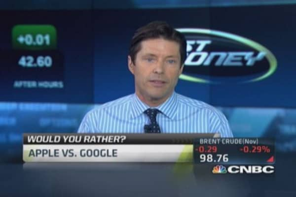 Would you rather: Google vs. Apple