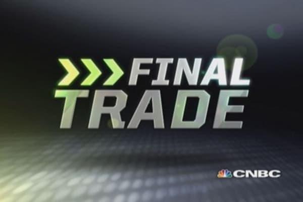 Fast Money Final Trade: BIDU, MET, EWH, CME