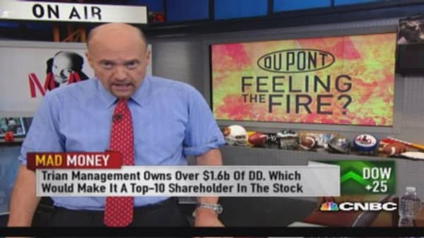 What to do with DuPont: Cramer