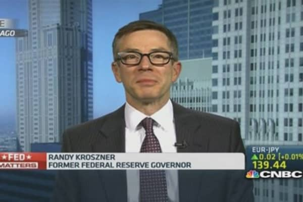 Ex-Fed governor: 'Considerable time' is here to stay