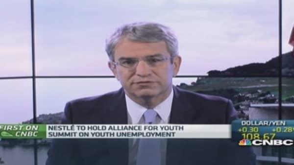 Youth unemployment worst part of crisis: Nestle exec
