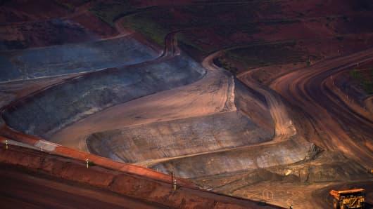 Vale's Brucutu mine in Barao dos Cocais, Minas Gerais.