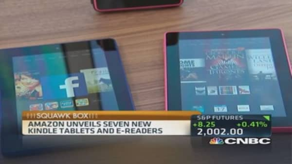 Amazon's 3 Kindles and a deal