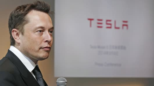 Tesla Motors CEO Elon Musk.